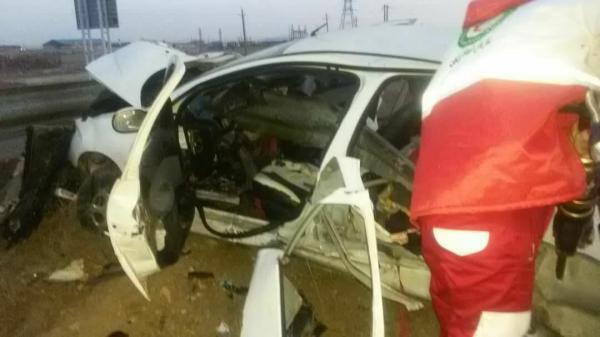 خبرنگاران تصادف در محور راسک -دشتیاری 3 کشته و 10 مجروح برجا گذاشت